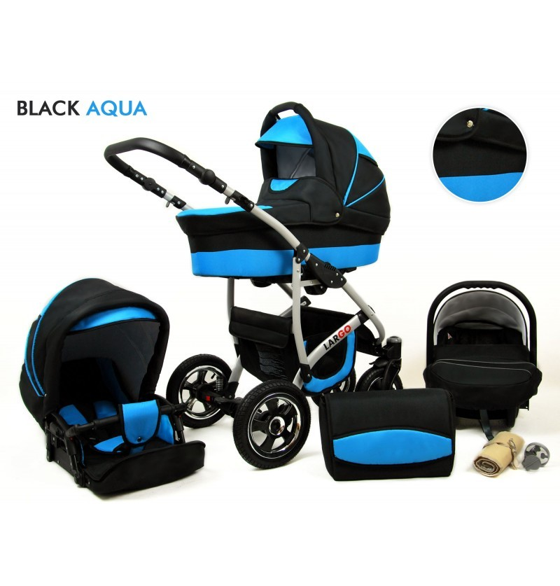 Largo 3 in 1 Black Aqua