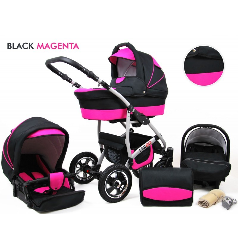 Largo 3 in 1 Black Magneta