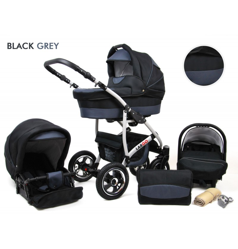 Largo 3 in 1 Black Grey