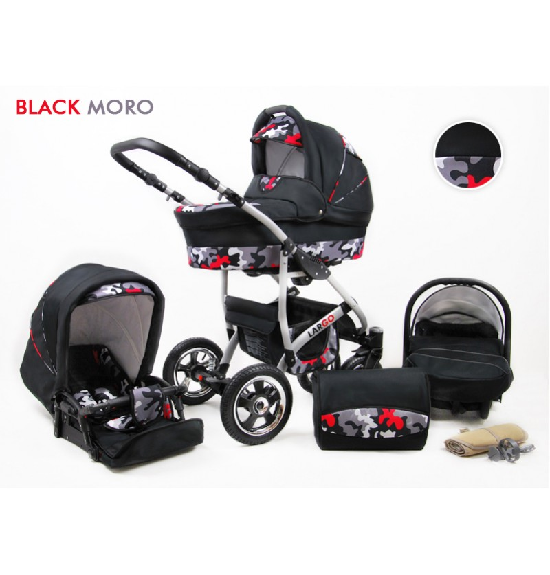 Largo 3 in 1 Black Moro