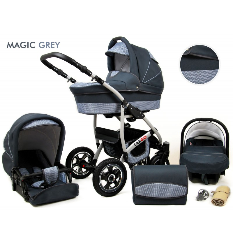 Largo 3 in 1 Magic Grey
