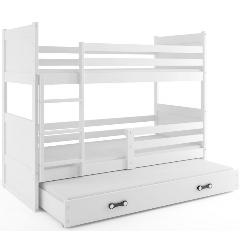 3-persoons Stapelbed Rico wit