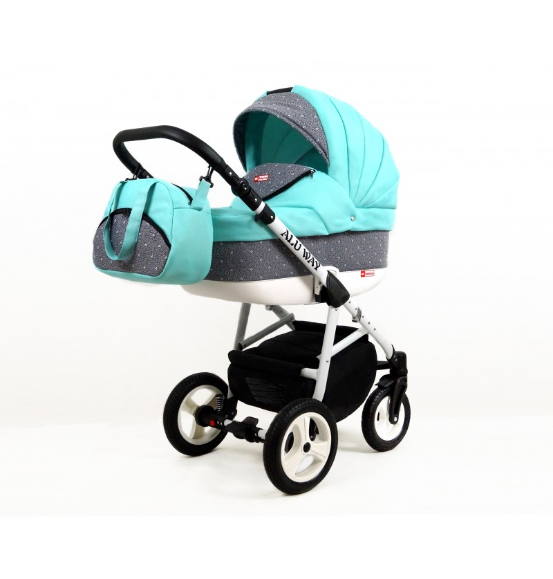 Kinderwagen Alu Way 3 in 1...