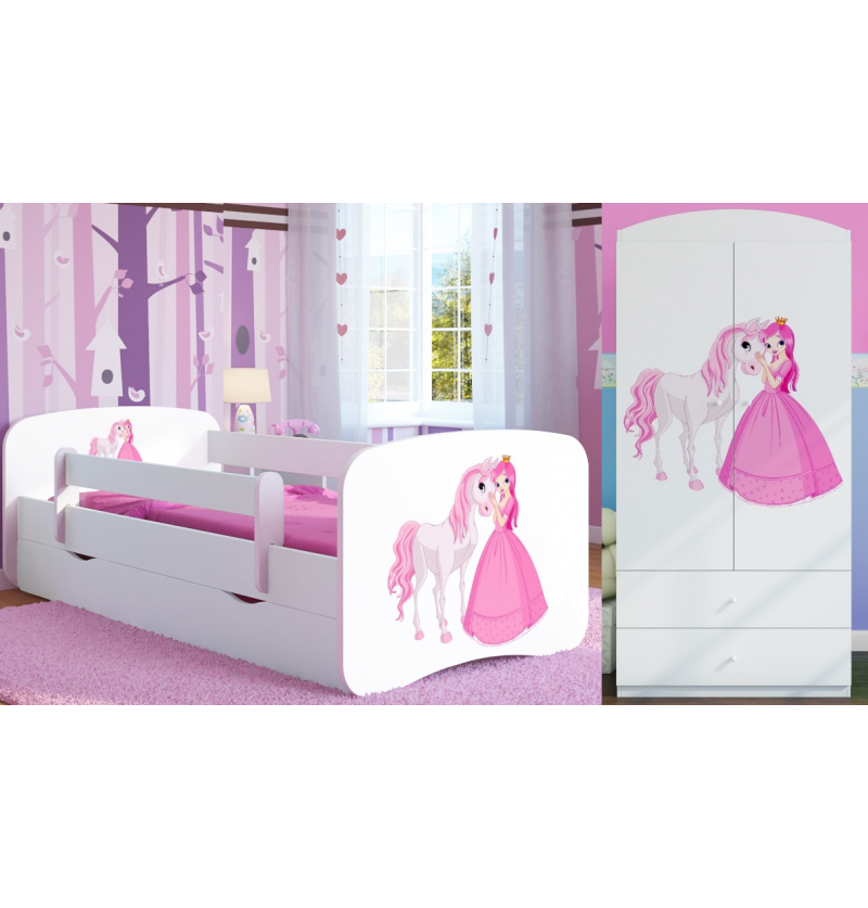 kinderkamer set wit Prinses...