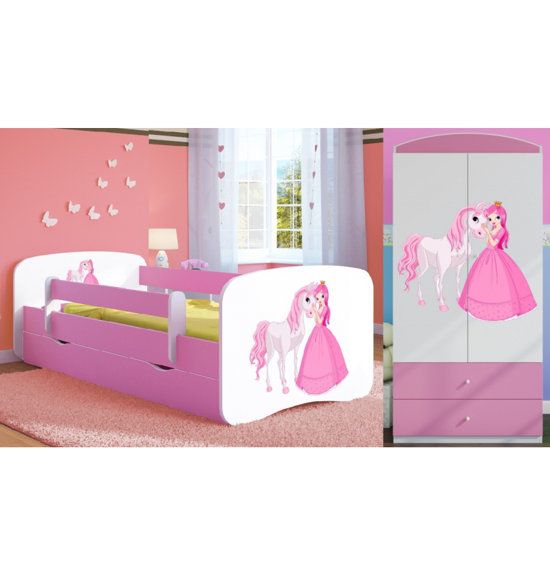 Kinderkamer set roze...