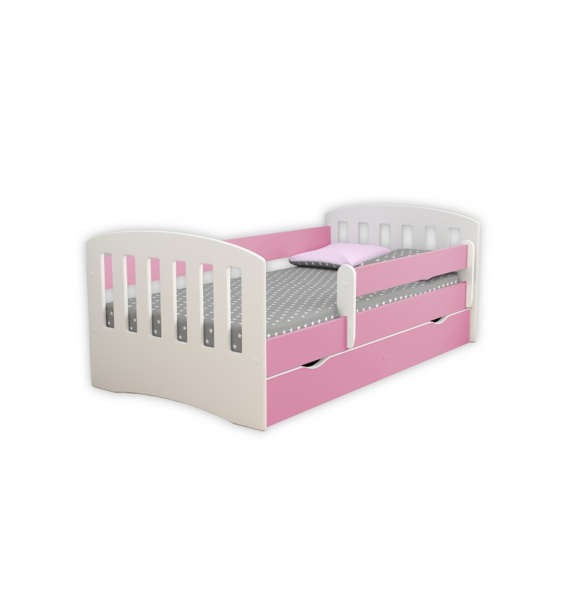 Kinderbed Classic roze