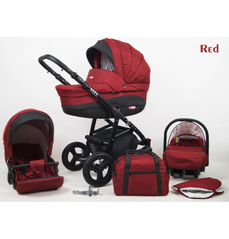 Axel 3 in 1 Red