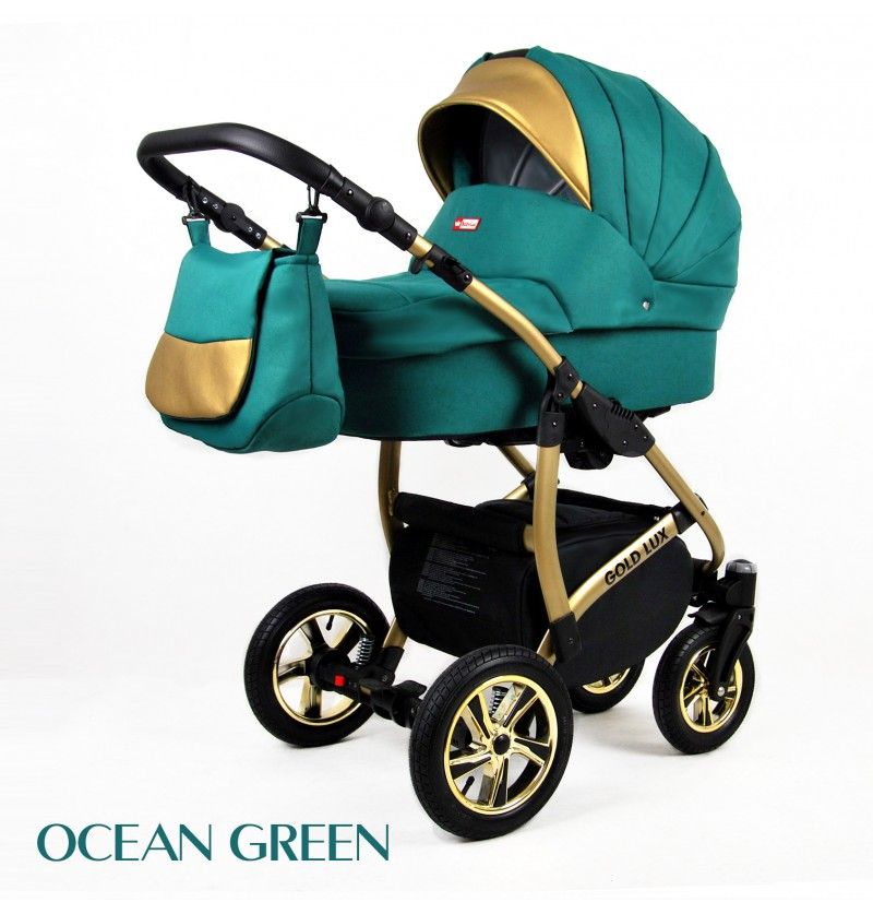 Gold Lux 3 in 1 Ocean Green