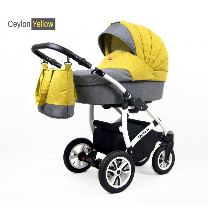 Queen 3 in 1 Ceylon Yellow