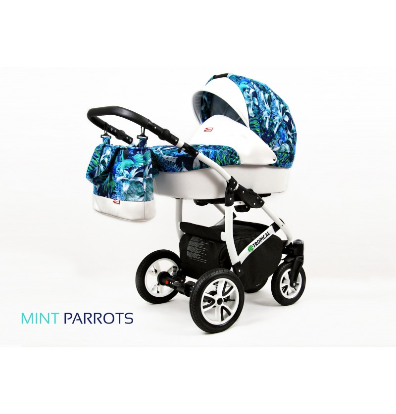 Tropical 3 in 1 Mint Parrots