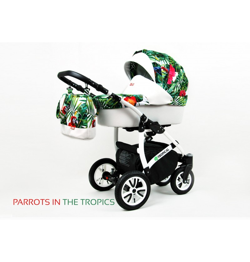 Tropical 3 in 1 Parrots in...